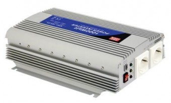Invertor tensiune 24V-230V 1000W Mean Well